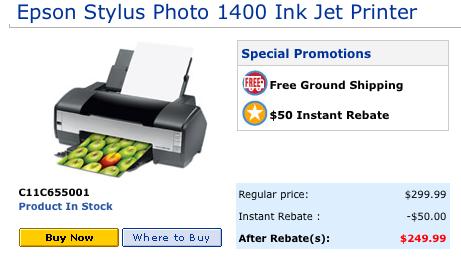 UnBoxed: Refurbished Epson Stylus Photo 1400 | Freedom to Print!