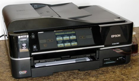 Epson Artisan 800 Inkjet Printer All In One, Multi Function, CIS, CISS, Bulk Ink, Continuous Inking System, Photo Printer