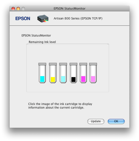 How much ink your bundled Epson inkjet printer cartridges use to prime the print head onfirst use.
