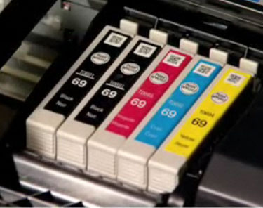 Cartridge configuration for Epson Workforce 1100, Workforce 30 to determine continuous ink supply option - CIS CISS