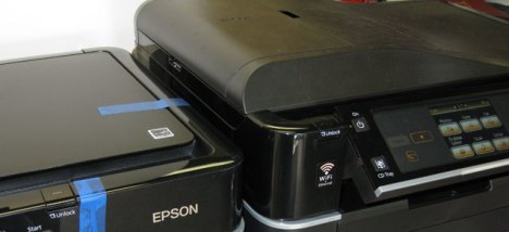 The Epson Artisan 700 is Smaller Than The Artisan 800 Inkjet Printer From Epson.