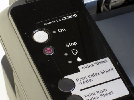 Stylus CX7400 inkjet printer.