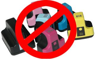 No more cartridges for your Photsmart Inkjet printer.