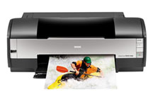 Epson Stylus Photo 1400 6-Color Tabloid Size Inkjet Printer.