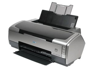 Epson Stylus Photo R1800 Inkjet Printer Large Format Tabloid Size