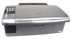 Epson Stylus CX7000 Inkjet Printer With CIS, CISS, or Continuous Ink System.
