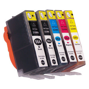 HP 564 Cartridges used in this printer.