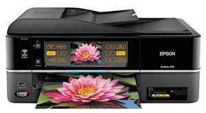 Epson Artisan 810 Inkjet Printer $169 At Amazon.com