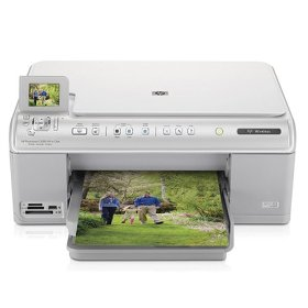 Hewlett Packard HP Photosmart C6380 Inkjet Printer.