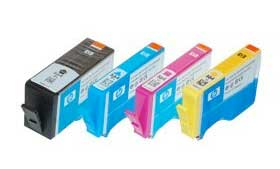 Hewlett Packard (HP) 564 Inkjet Printer Cartridges.