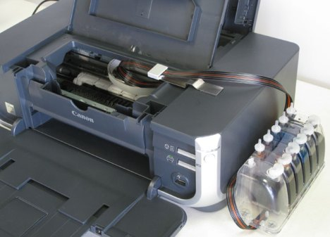 Canon Pixma Alternative Ink Solution CIS, CISS, Inking System iP4200, iP4300, iP4500