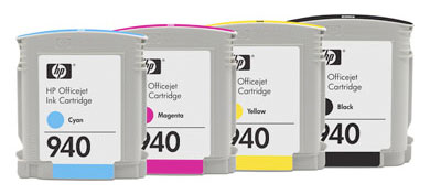 HP 940 Printer Ink Cartridges And Tanks