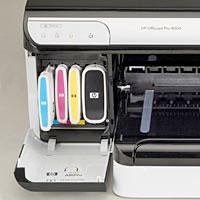 HP 940 INkjet Printer Cartridges Installed Individual Ink Tanks