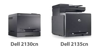 Dell 2130cn and the Dell 2135cn color laser printers