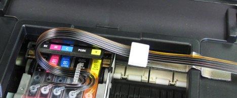 Canon pixma iP4600, iP4700 CIS, CISS, Inking System Tubing