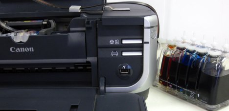 CIS - Cartridge Set Canon PGI-5, CLI-8 - Pixma iP4200, iP4300, iP4500 Continuous Inking System Pre-Filled