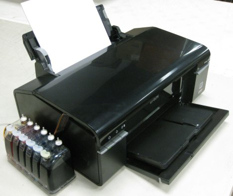 Epson Artisan 50 refurbished refurb inkjet printer with CI system (CIS, CISS)