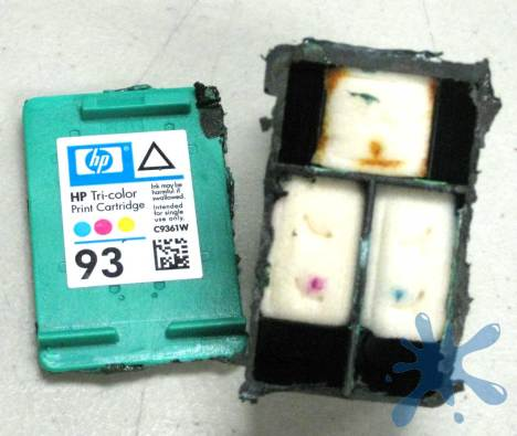 HP hewlett packard HP 93 c9361 tri-color ink cartridge review and information