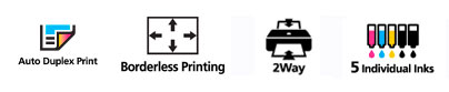 Things to like about the Canon Pixma iP4820 inkjet printer.