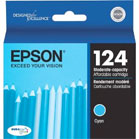 Epson t124120, t124220, t124320, t124420 ink cartridges from Epson - very low amount of ink in this cartridge.