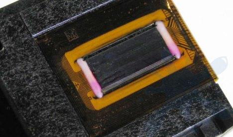 HP 75XL printhead for inkjet print cartridge.