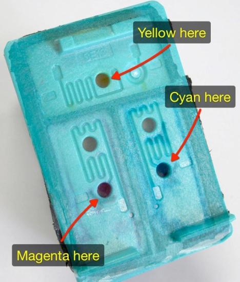 HP 75xl color tri-color ink cartridge