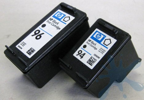 The HP 96 black ink cartridge is much bigger (physically) that most all the other black cartridges of this type.