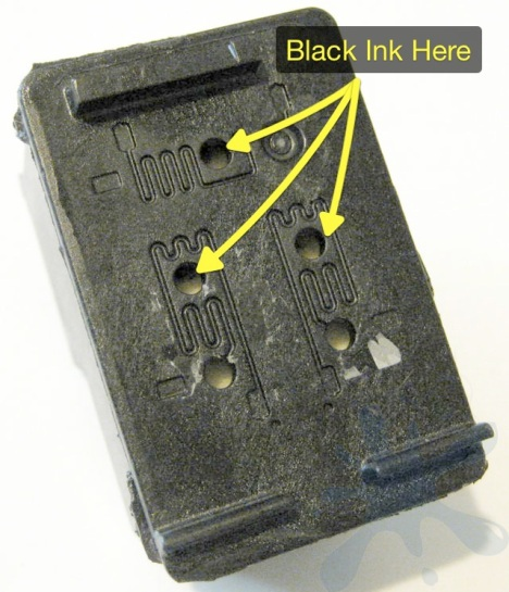 Where to refill the HP 98 black ink cartridge.