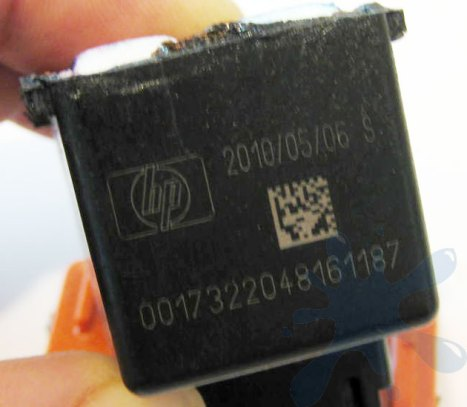 HP 99 photo ink cartridge - expiration date, and serial number of the cartridge.