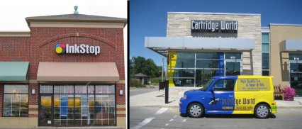 Ink stop and cartridge world are not was well eastablished in the industry - goodbye consumer options.